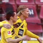 Haaland reddet tafatte Dortmund - satte «norsk» rekord