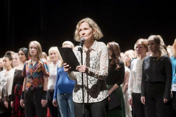 NÅ: Teater-stjernene leser opp hverandres #metoo-historier