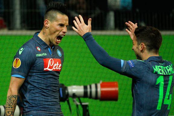 Napoli så godt som klar for semifinale i Europa League