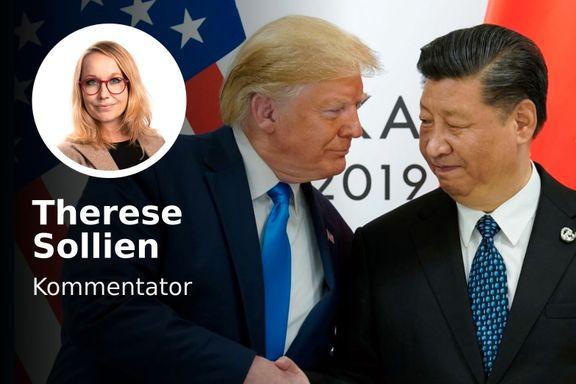 Selvsagt skal Kina ta større plass. Like selvsagt vil Vesten mislike det.