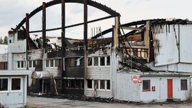 Moelv-brannen: Politiet har gjort undersøkelser på Gjøvik-adresser