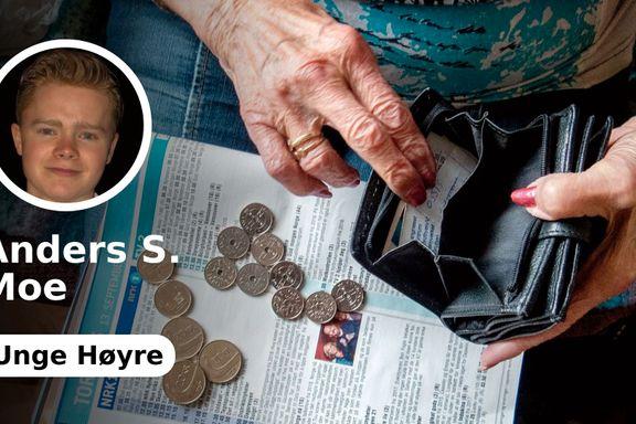 Å hjelpe flyktninger må aldri gå på bekostning av de eldre