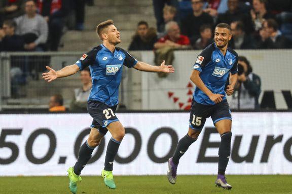 Hoffenheim sørget for første Bayern-tap på fire måneder