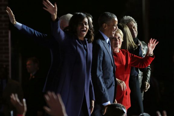 Obama: Michelle blir aldri president