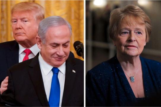 Vi ber Europa avvise USAs plan for Israel og Palestina