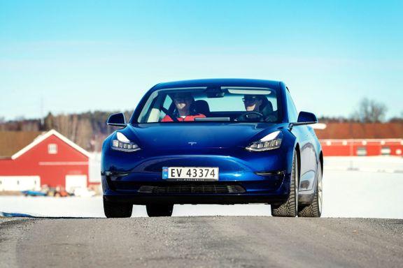 Mye moro for pengene, men vi ville ikke valgt denne Tesla-utgaven.