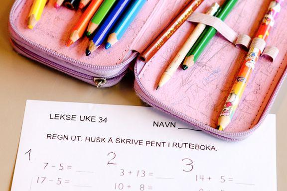 Kjære Erna, la oss få velge hjemmeskole nå!