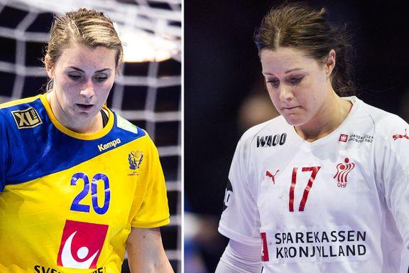 Danmark og Sverige i EM-trøbbel