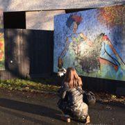 Gatekunst stjålet i Bergen