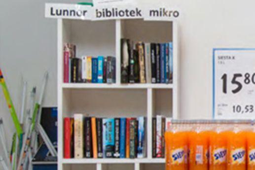 Er dette Norges minste bibliotek?