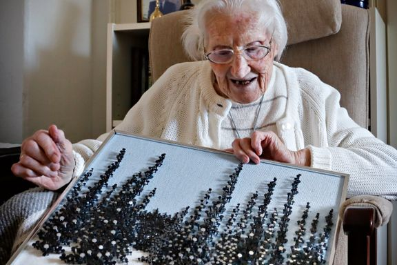 Ragnfrid Hanevold (105) har overlevd to verdenskriger, spanskesyken og nå snart også koronapandemien