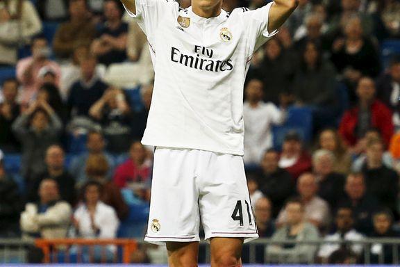 Ødegaard etter Real-debuten: – En veldig spesiell dag