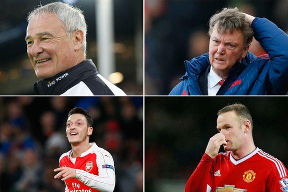 Disse fem imponerer i Premier League, mens disse fem skuffer