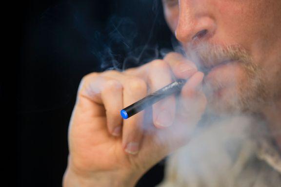 E-sigaretter kan få tenåringer til å begynne å røyke