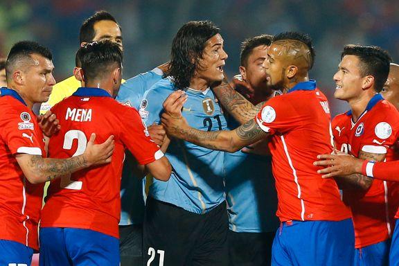 Uruguay ute av Copa América