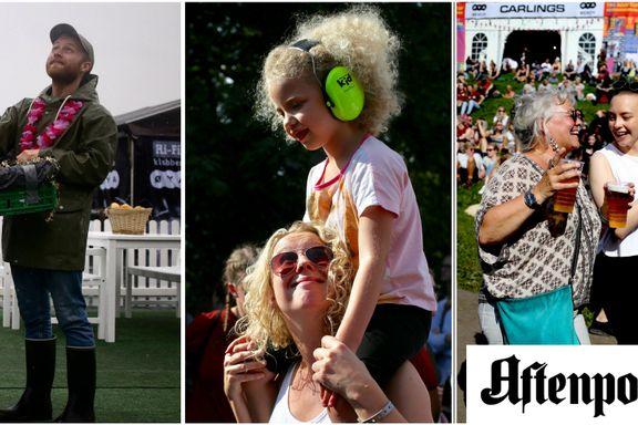 Det viktigste på Øyafestivalen er tross alt publikum
