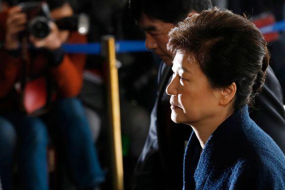 Sør-Koreas president i lange avhør om korrupsjons-mistanker