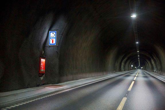 Riksrevisjonen: Tunnelsikkerheten er ikke god nok