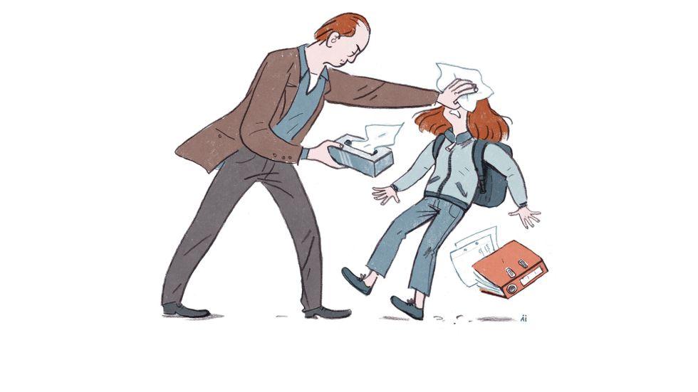 Frode Thuen: Faren fortsetter å oppsøke henne, selv om hun ikke vil ha kontakt med ham. Hva bør hun gjøre?