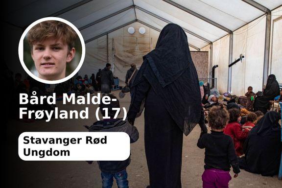 Frp reagerer sterkt på den IS-siktede kvinnens hjemkomst. Det blir for dumt.