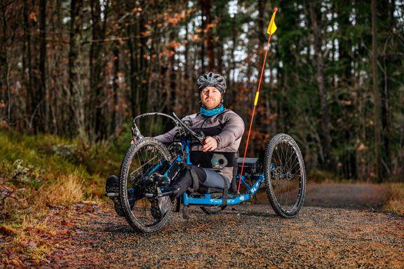 – Jeg ønsker at barna skal være stolte av pappa selv om jeg sitter i rullestol
