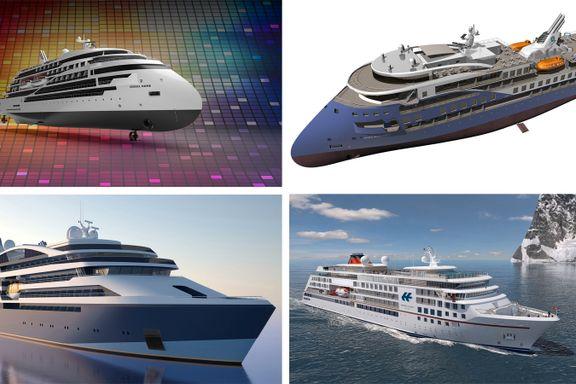 Før oljekrisen bygget de offshoreskip. Nå bygger norske verft luksus.