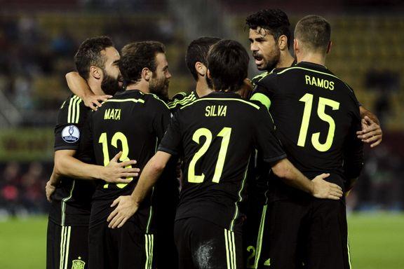 Spania nær EM-sluttspillet