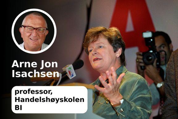 Om å ta ansvar etter nederlag - slik Gro Harlem Brundtland gjorde