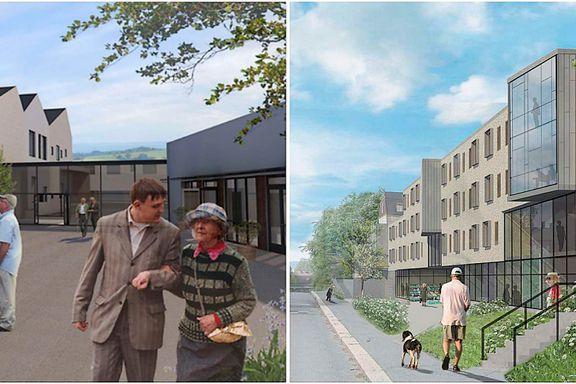 Sykehjem med pub og spa er ikke nok. Nå vil Oslo bygge hele landsbyer for demente.