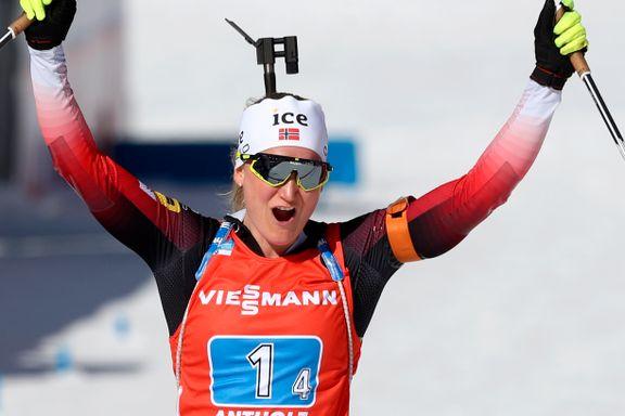 Norges VM-dronning reddet stafettgullet: – Var skikkelig nervøs