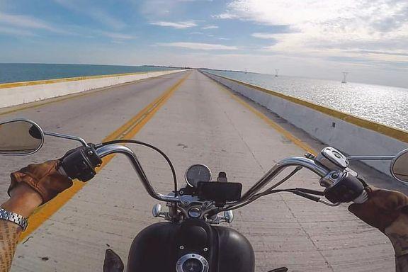 Etter en alvorlig motorsykkelulykke bestemte han seg. Han skulle følge guttedrømmen.