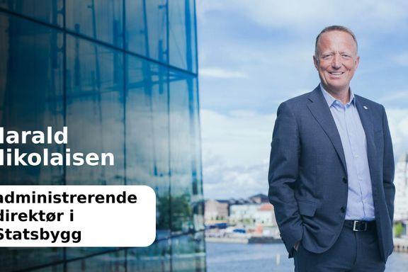 Byggekrav krever oppfølging    Harald Nikolaisen