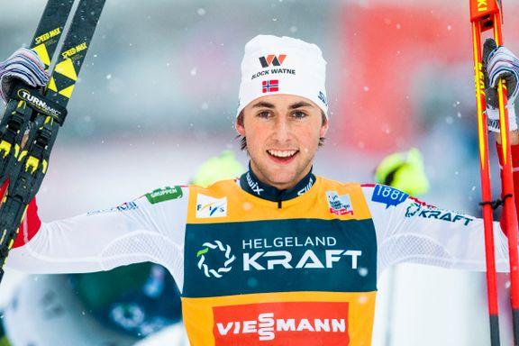 Endte 20 års tørke: Nordmann vant verdenscupen