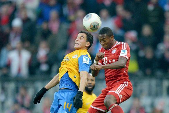 Elabdellaouis lag kom til kort mot Bayern
