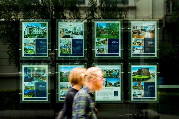 Nye tall viser bratt fall i visninger av boligannonser
