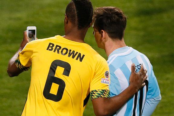 Dette tenkte Messi da Vålerenga-spissen ba om selfie