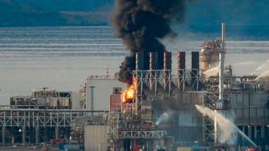 Equinor: Brann og gasslekkasje på to ulike steder