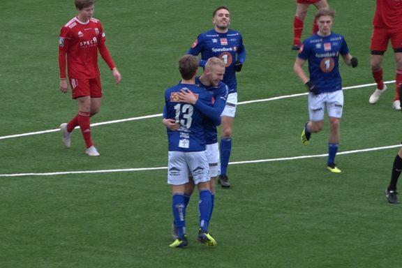 Se alle scoringene fra lokaloppgjøret Ranheim-Byåsen