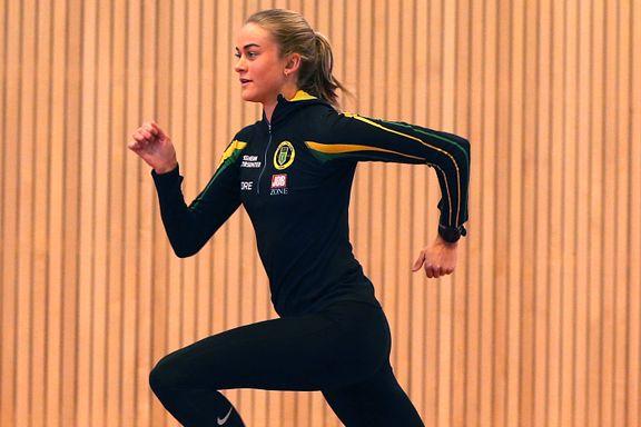 I seks år løp Amalie Sæten (20) forvirret rundt på fotballbanen. I dag er hun sjeleglad hun oppdaget løping.