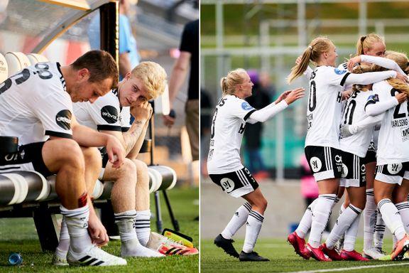 Rosenborg har to lag i toppfotballen. Det nyeste danker ut giganten.