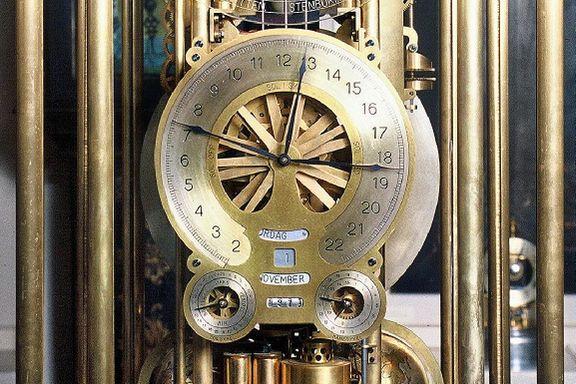 I sommer fyller museet 100 år. Dette uret er en av de største attraksjonene.