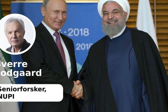 USA har satt kurs for krig mot Iran