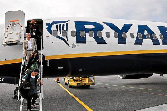 Ryanair kan starte på Oslo Lufthavn 1. september