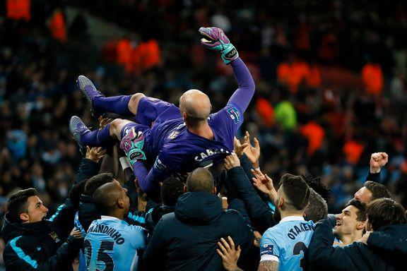 Reserven ble den store helten etter straffedrama på Wembley