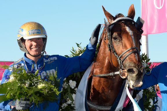 Trøndersk travstjerne vant en halv million og satte verdensrekord
