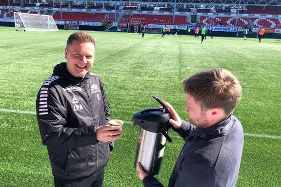 iTromsø tar temperaturen på «Gutan» tre dager før comebacket: Her leveres det kaffe – så kom den overraskende beskjeden