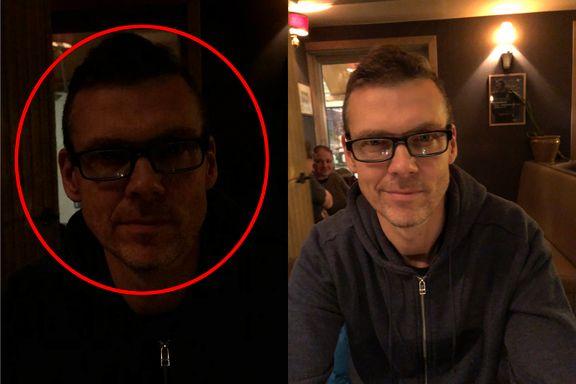 Bildet til venstre er tatt med Iphone X. Det til høyre er tatt med en mye rimeligere telefon.