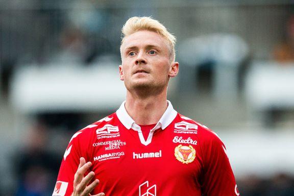 Bryne-mann med sitt første mål - kan berge svensk klubb