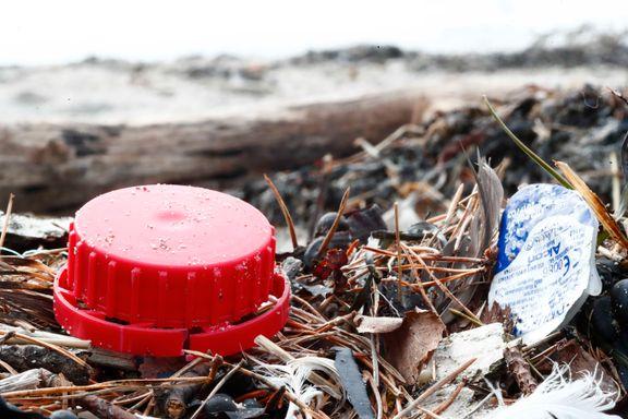 Plast i havet ender på norskekysten