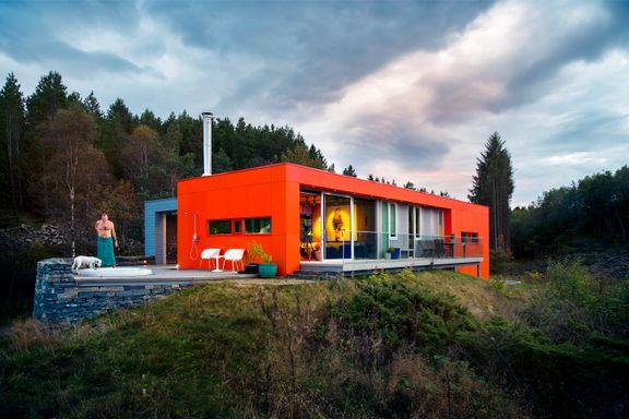 Gjemt i en skog ligger bygningen superarkitekten kanskje er mest stolt av: sin egen hytte.